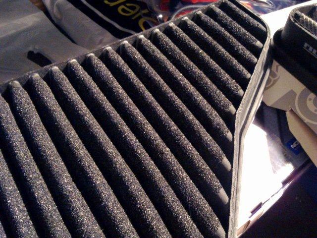замена угольного салонного фильтра мерседес w140