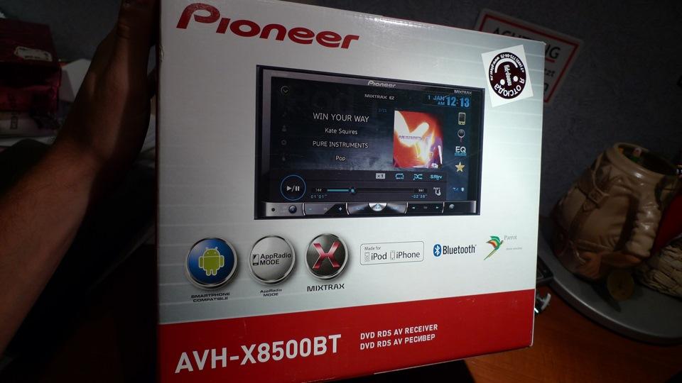 Pioneer AVH-X8500BT AV Receiver Driver for Windows Mac
