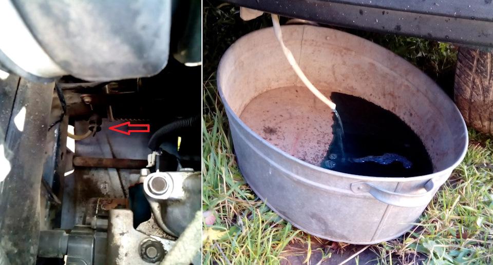 Сливная пробка охлаждающей жидкости ваз 2107