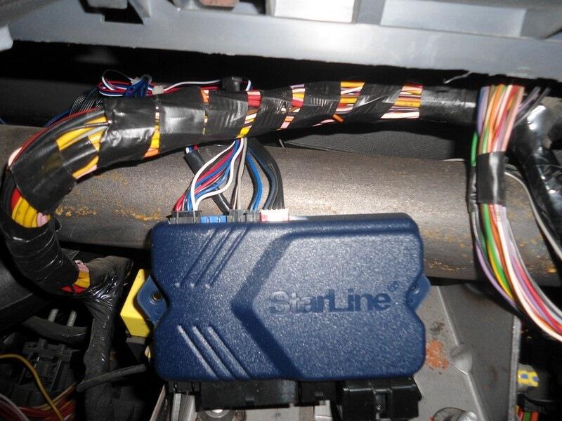 антена, светодиод, кнопка и