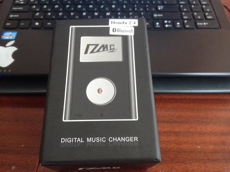 Digital music changer