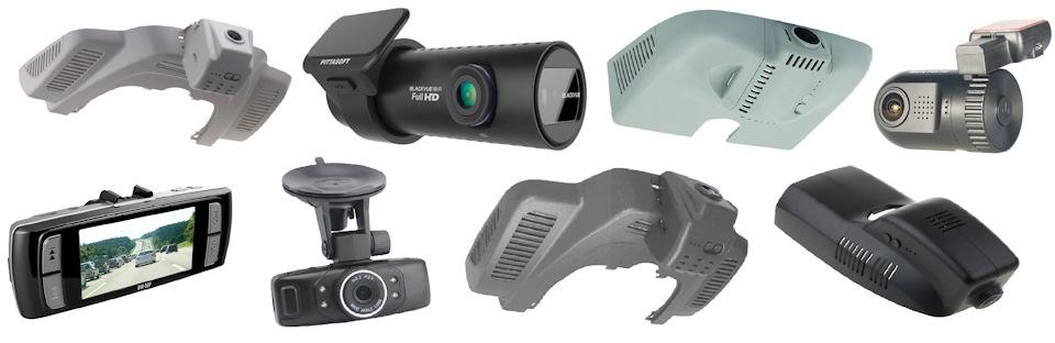 Установка видеорегистраторов в различные автомобили