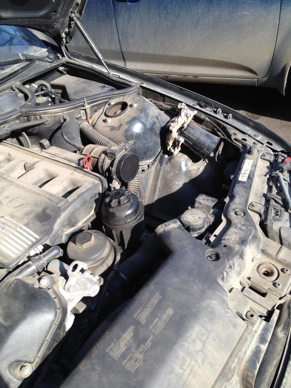 замена масла в кпп BMW e46