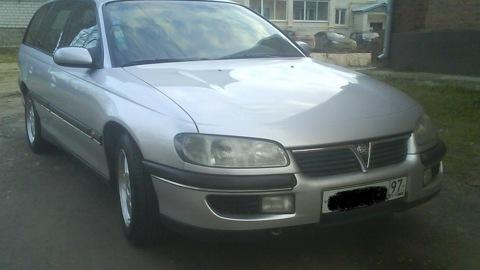 opel omega v6 1997 машина дергается