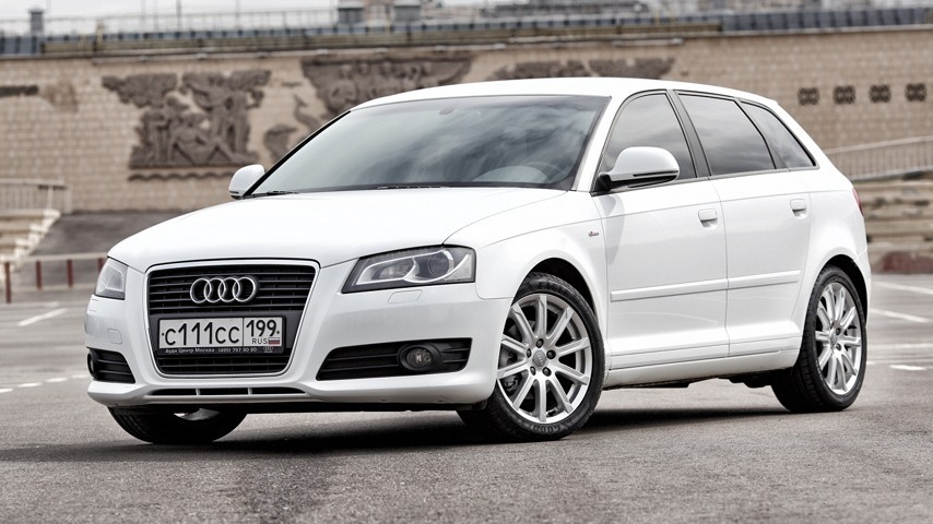 audi a3 sportback 1 8t white low drive2. Black Bedroom Furniture Sets. Home Design Ideas