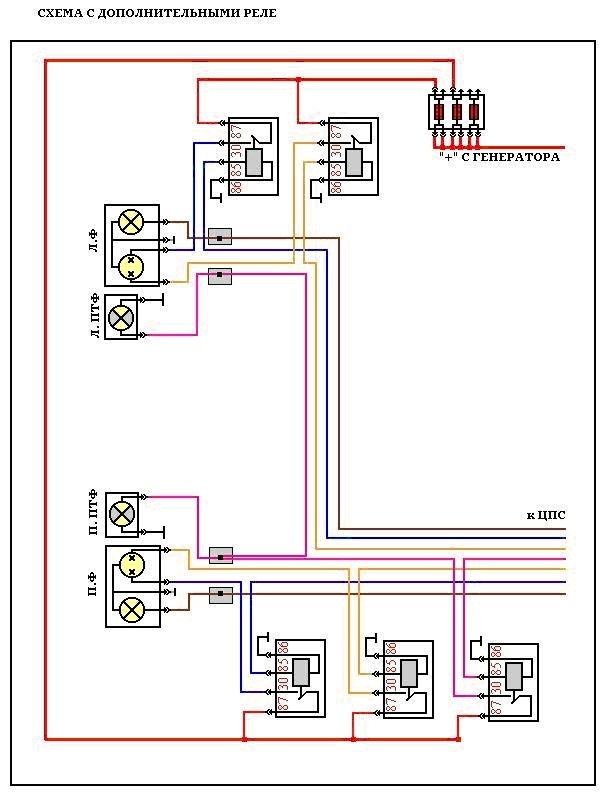 Модернизированная схема
