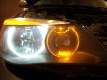 замена лампочки в фаре BMW e46