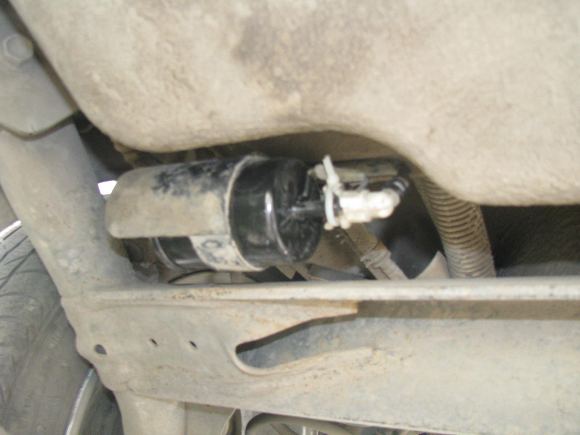 Chevrolet epica замена топливного фильтра
