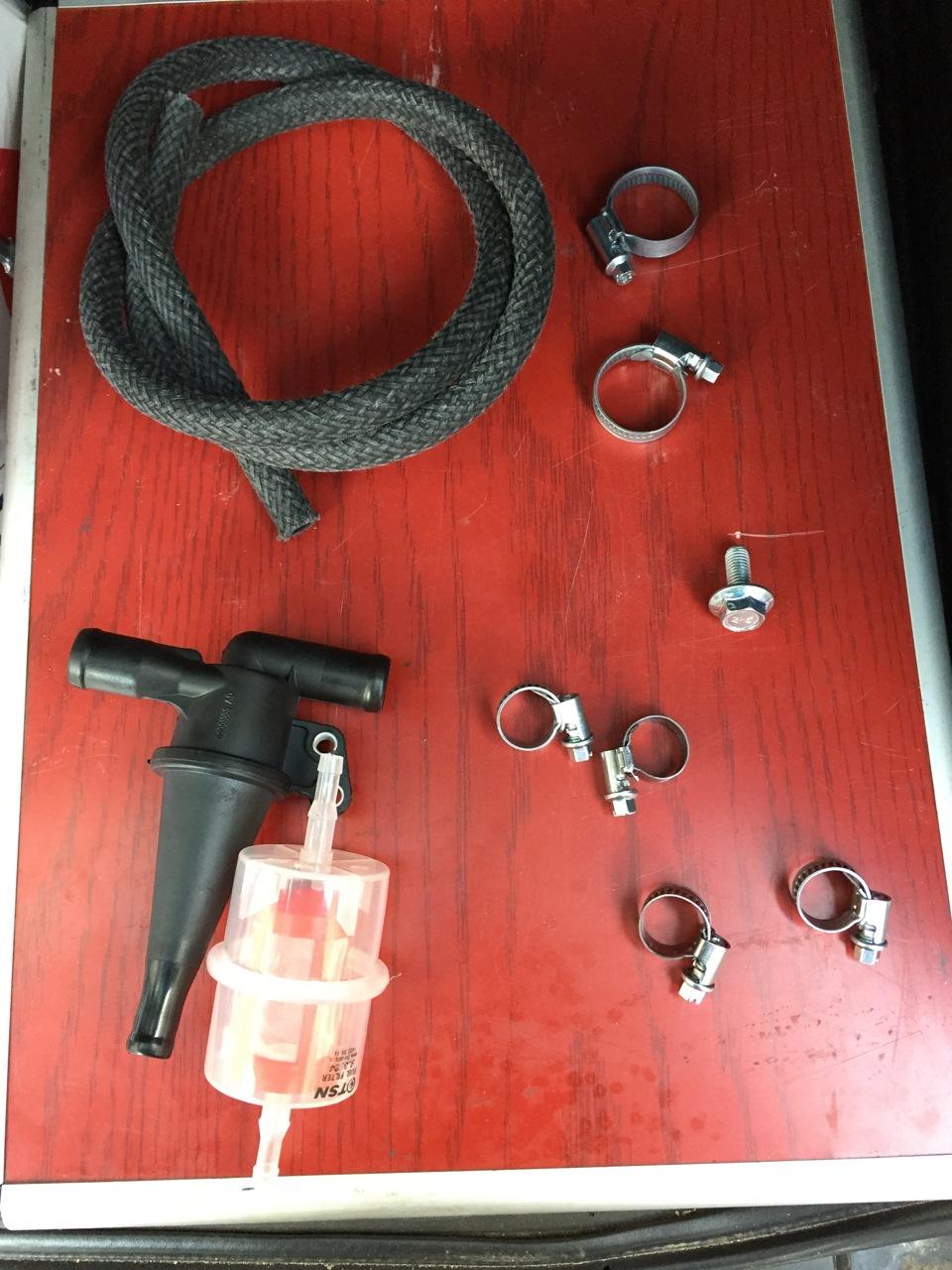 28c6becs 960 - Установка маслоотделителя картерных газов