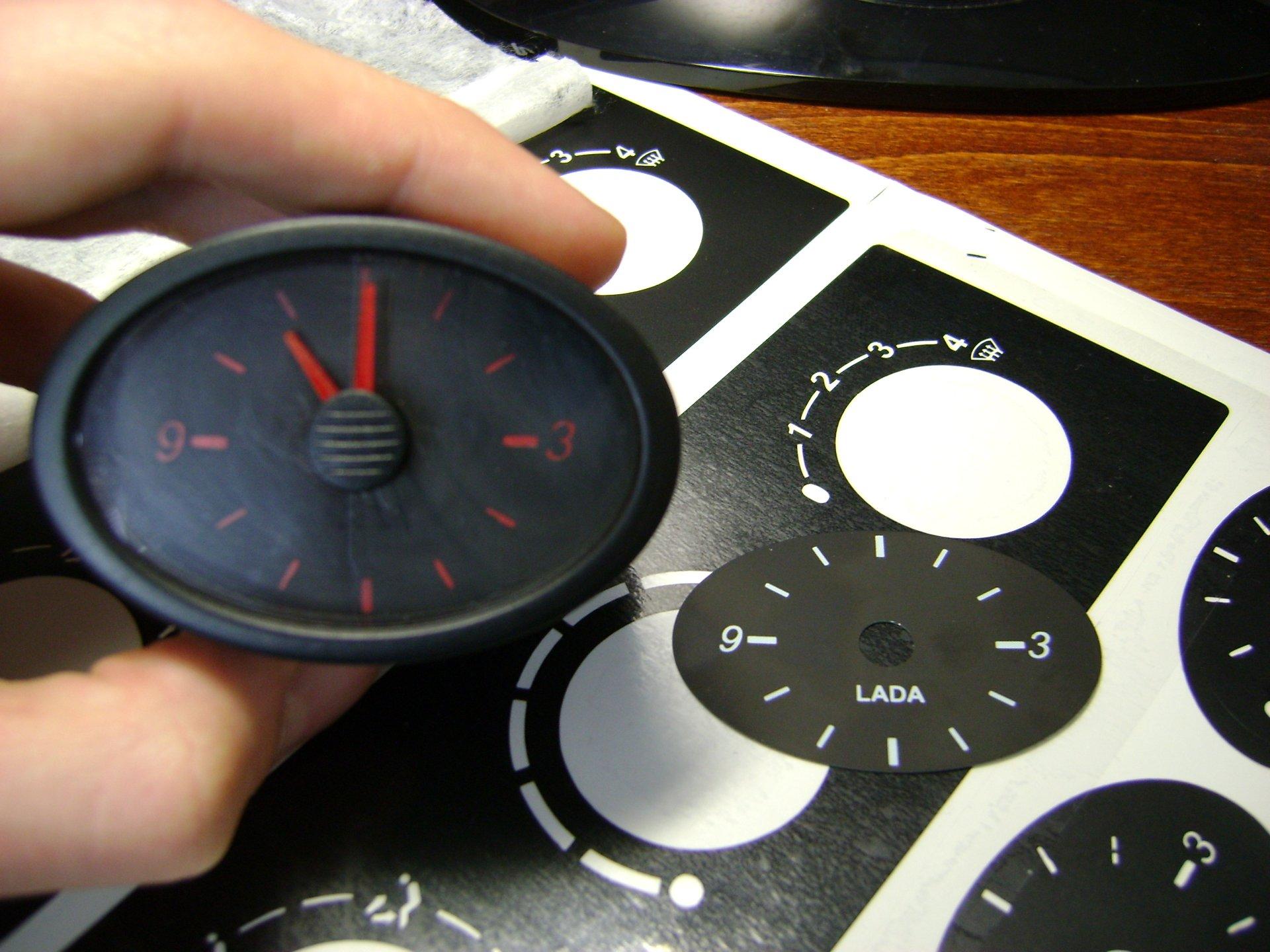 Как сделать кнопку для часов