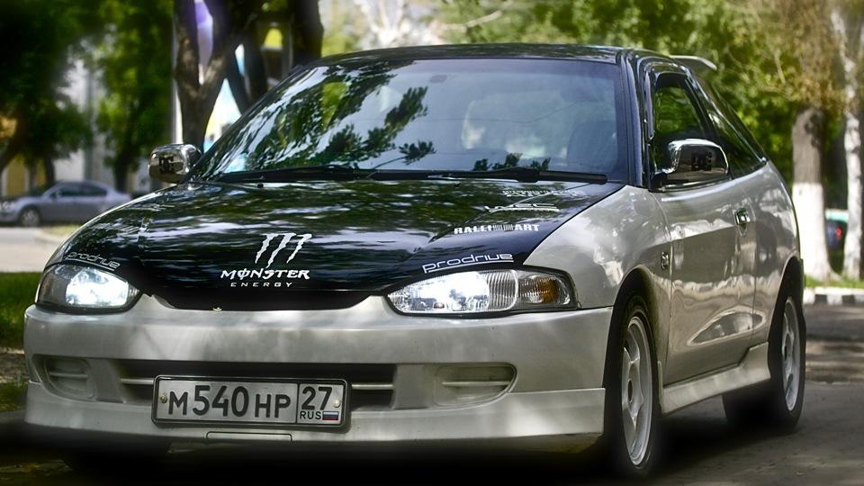 mitsubishi mirage 2000 купе механика