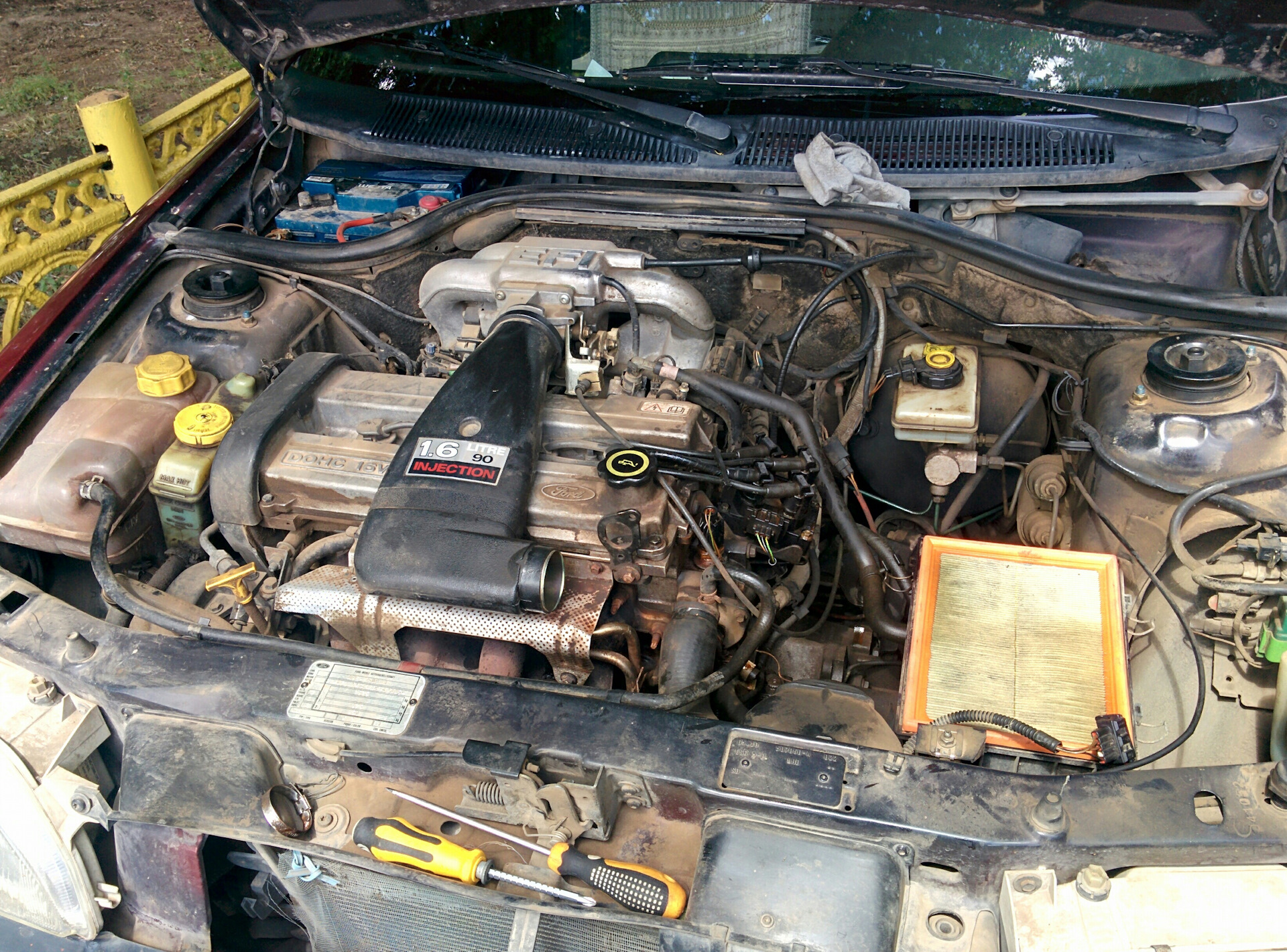 Ford escort cooling system tips