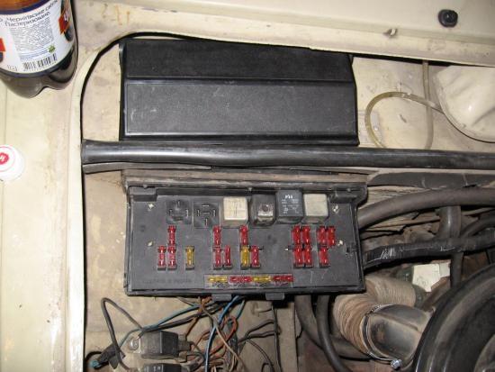 Ранее автомобили ВАЗ-2107