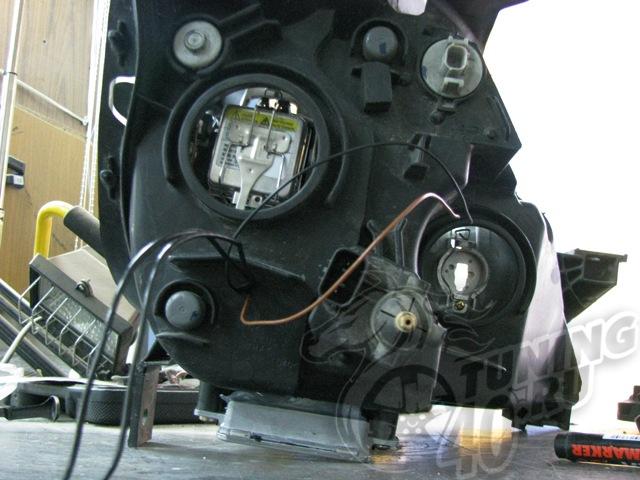 Замена лампочек на хонда срв