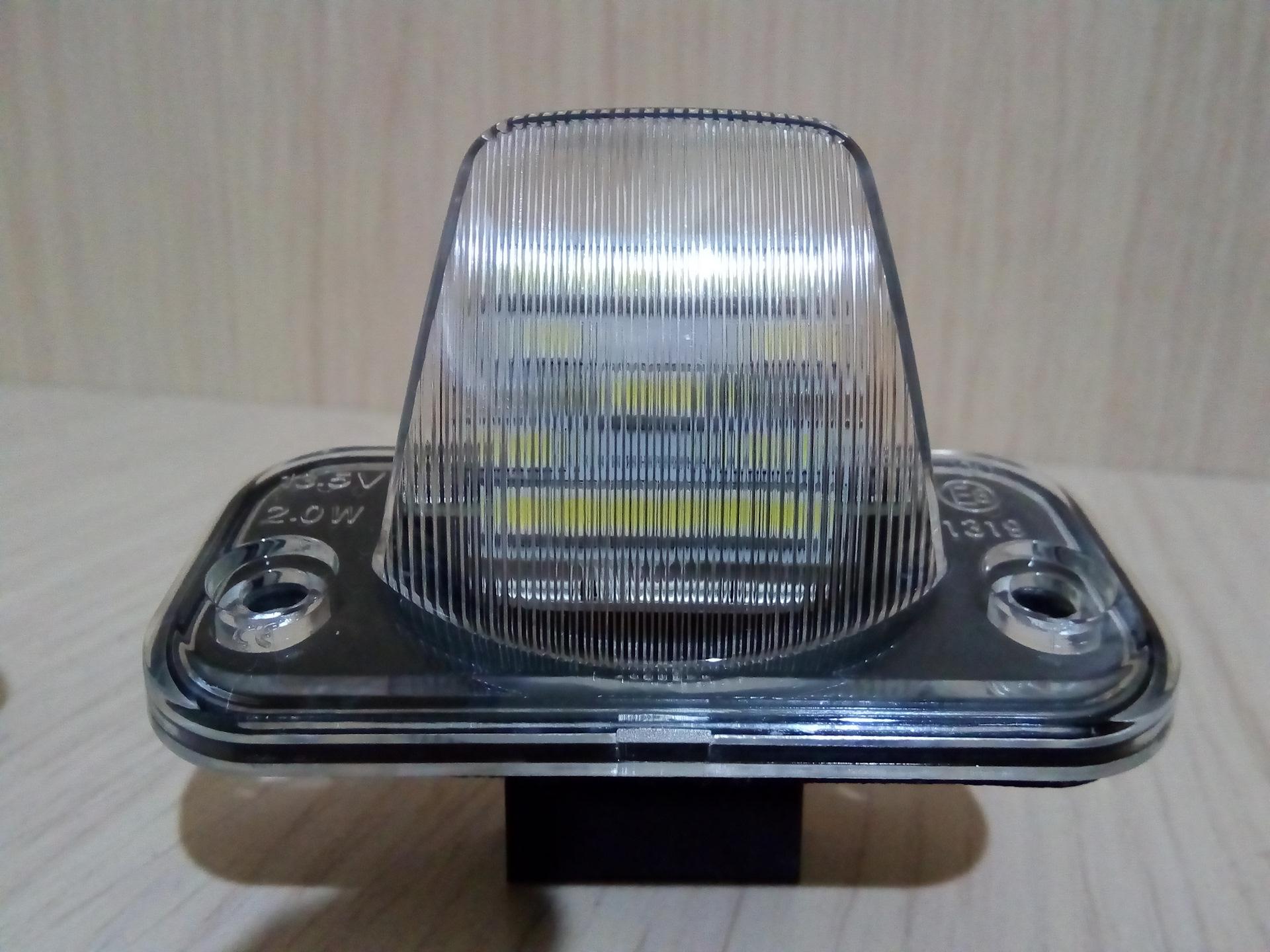 фонарь освещения номерного знака фольксваген т4