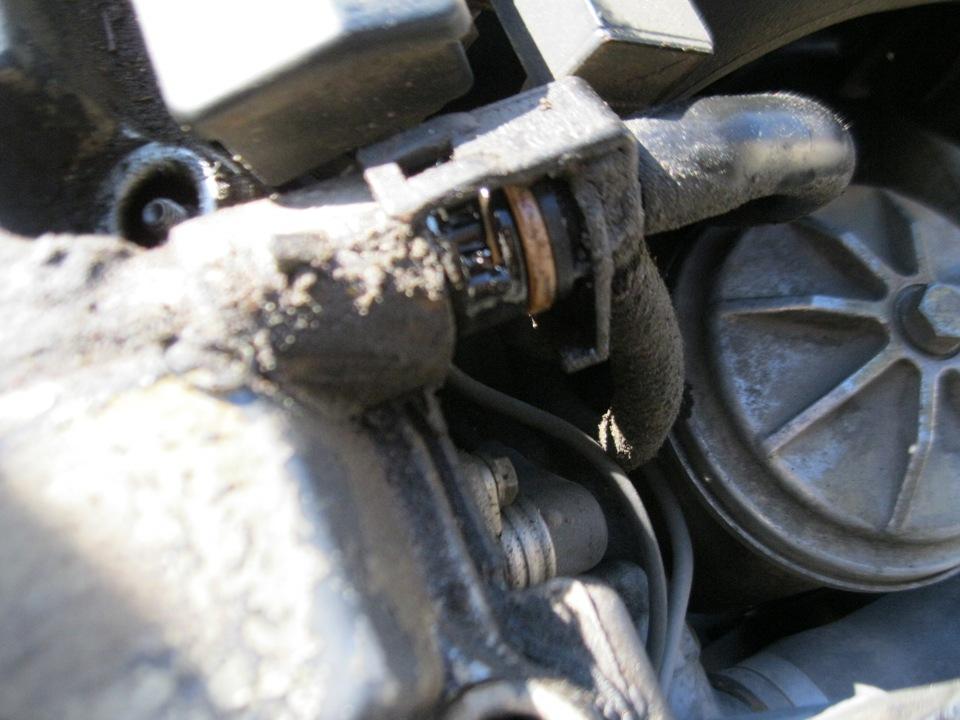 замена прокладки клапанной крышки BMW e46