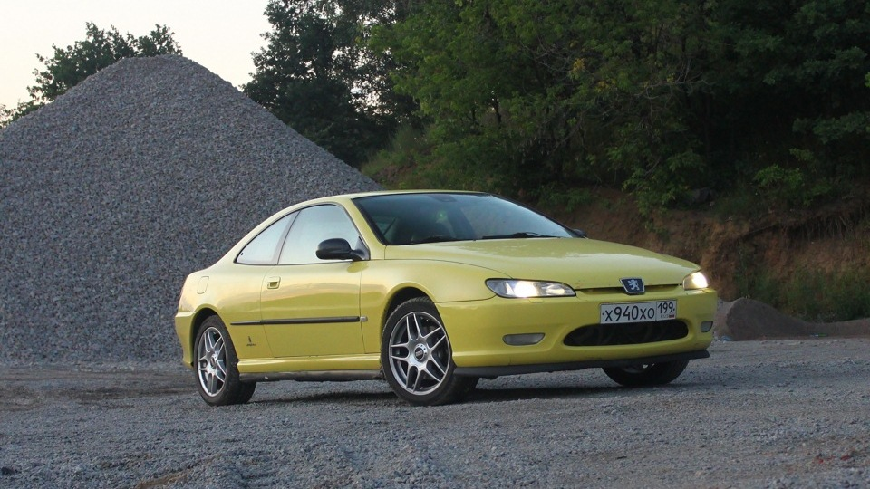 peugeot 406 coupe 3 0 v6 yellow drive2. Black Bedroom Furniture Sets. Home Design Ideas