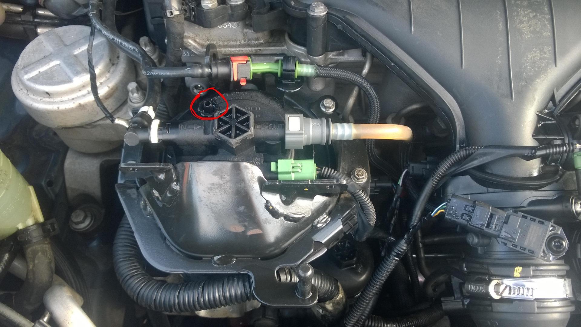 замена топливного фильтра на ford s max