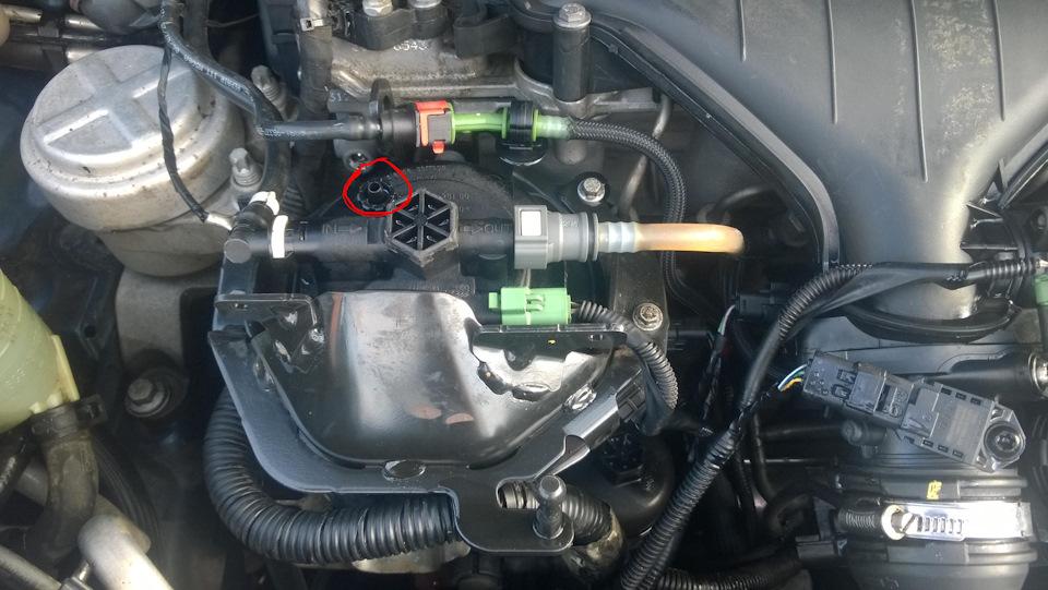замена топливного фильтра на ford s-max tdci