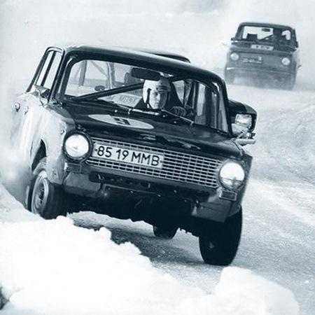 Русская зима, авто-ралли