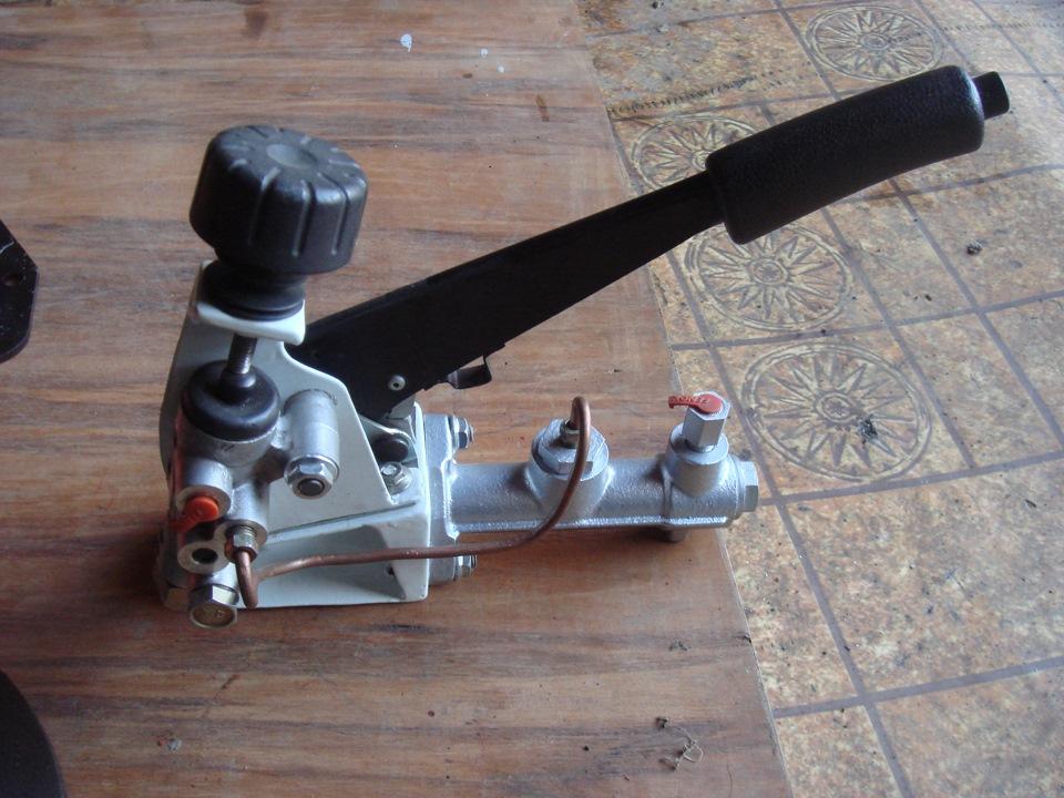 Ручник на дисковые тормоза ваз 2110