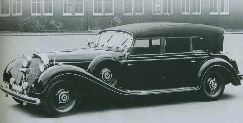фото мерседес бенс 1942-1945 года выпуска