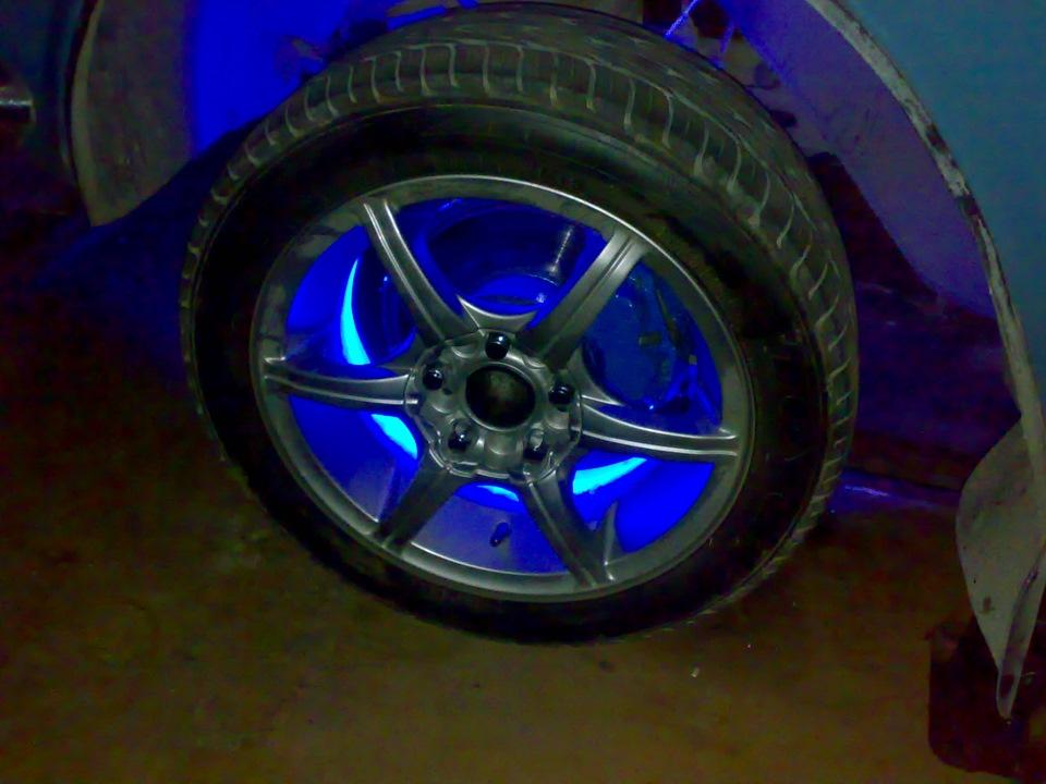 Фото переднего колеса со