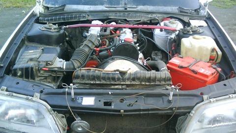 двигатель с опель омега а