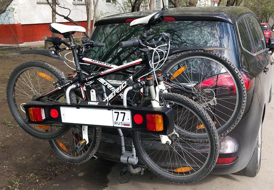 Крепление для велосипеда на фаркоп Thule Xpress 970 - фото 11