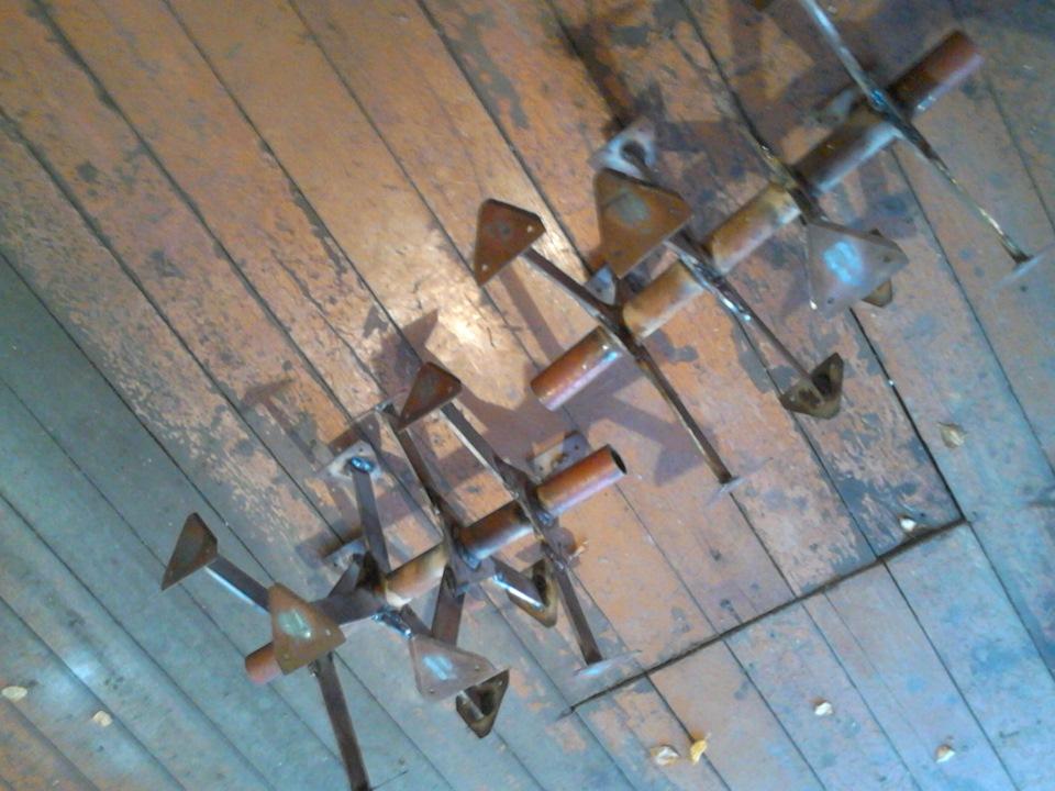 Фрезы гусиные лапки для мотоблока своими руками