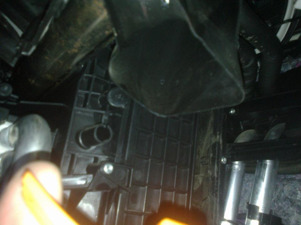 Чистка радиатора форд фокус своими руками 815