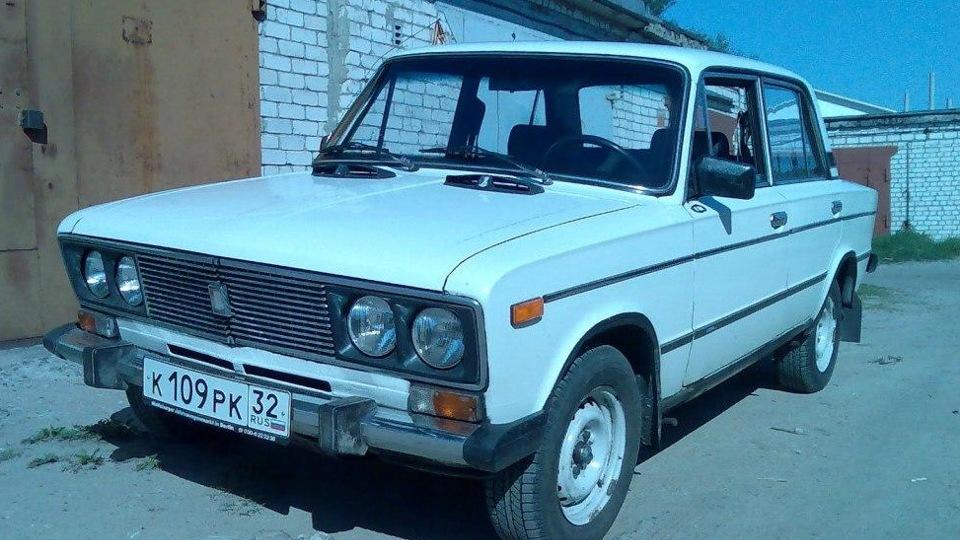 Лада 2106 Белая �о�а drive2