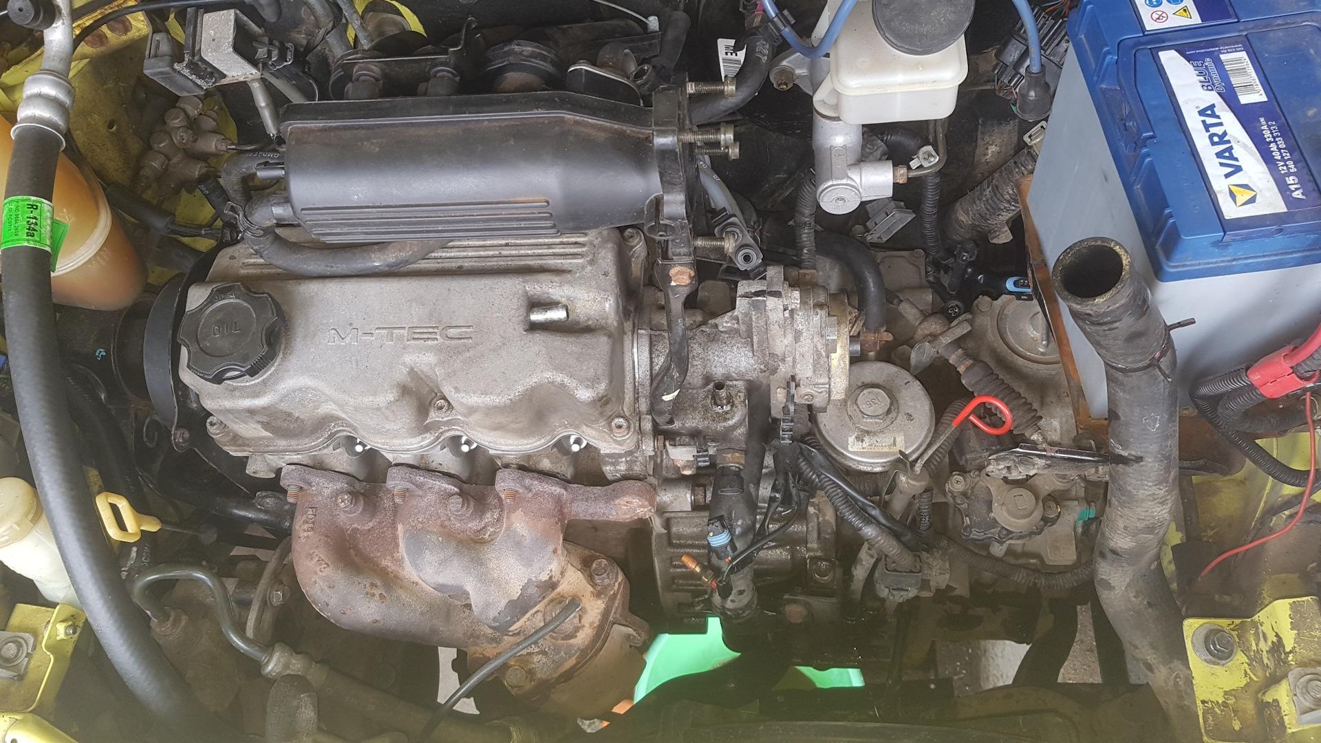 Капремонт двигателя дэу нексия своими руками 54