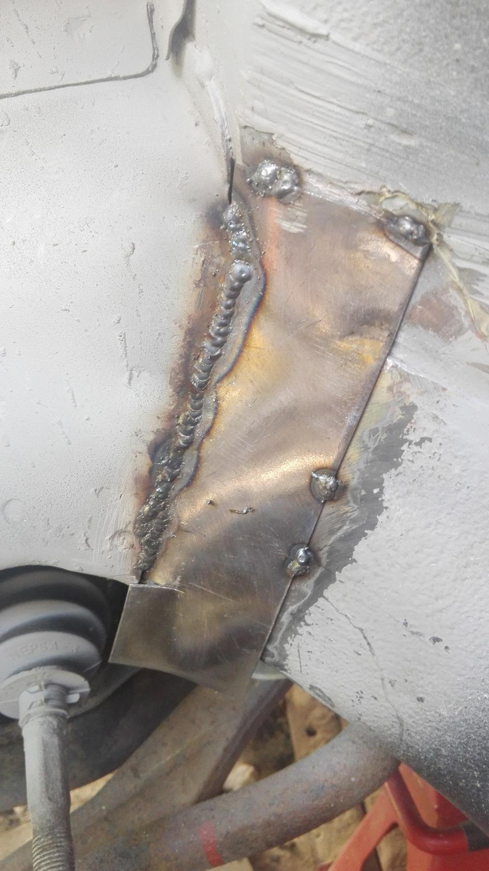 как варить полуавтоматом с газом