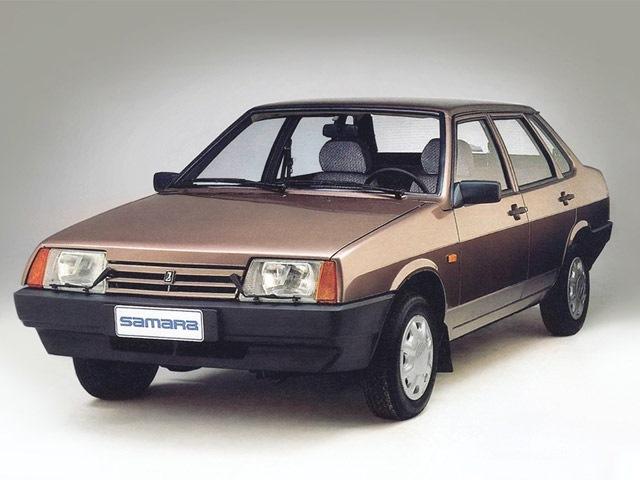 Все изображения являются собственностью их авторов.  AvtoVAZ.  Автомобиль: Lada Samara Sedan (21099) '1992–99.
