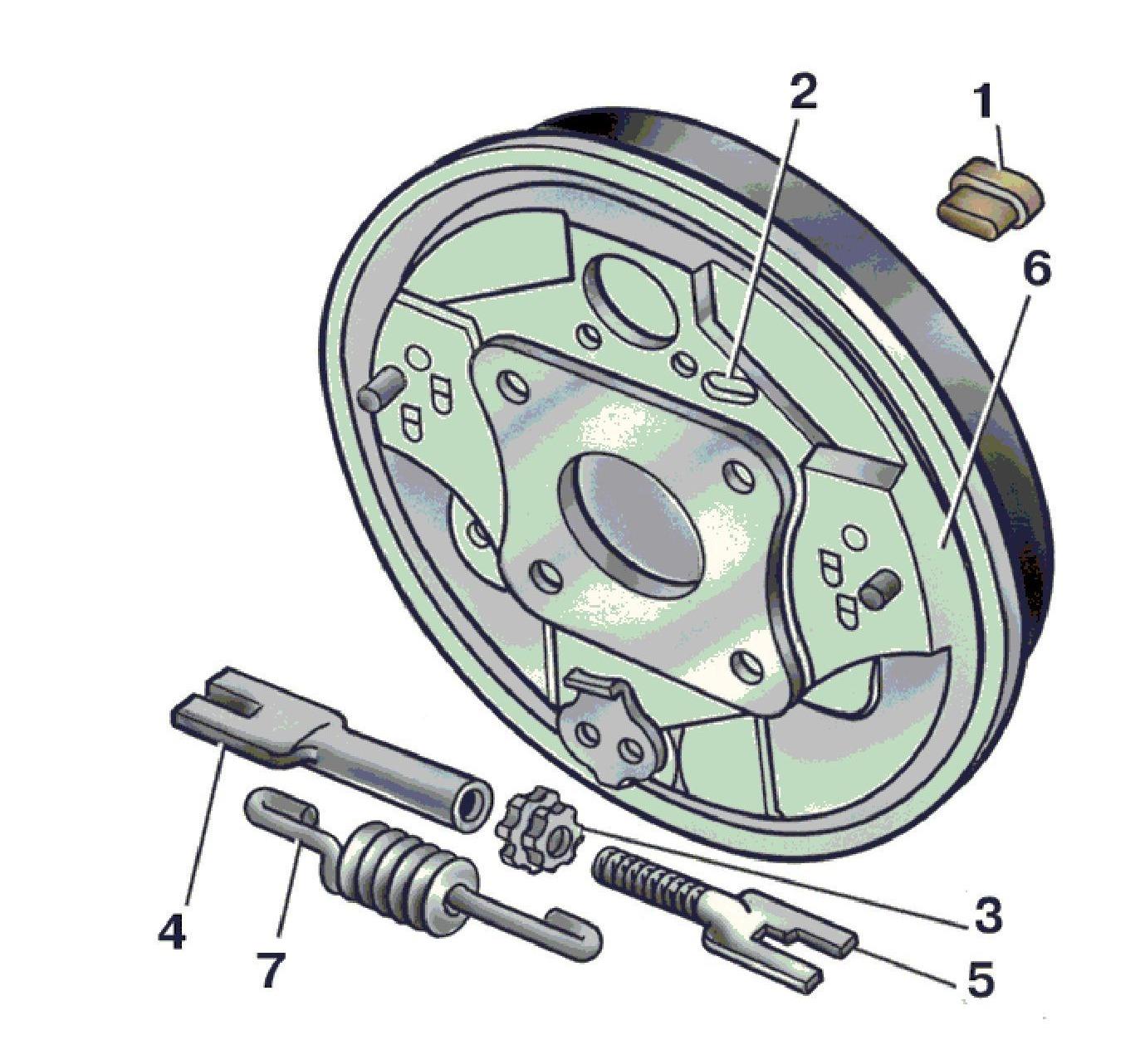 Регулировка ручника на транзите 4 фотография