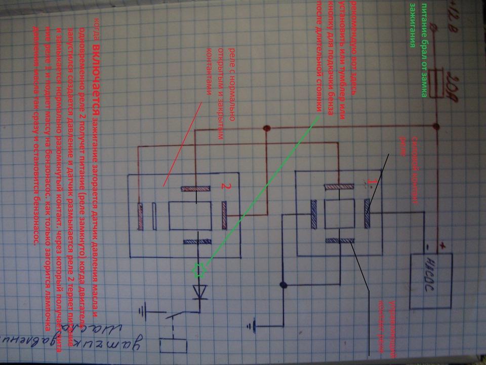 Установка Электро бензонасоса