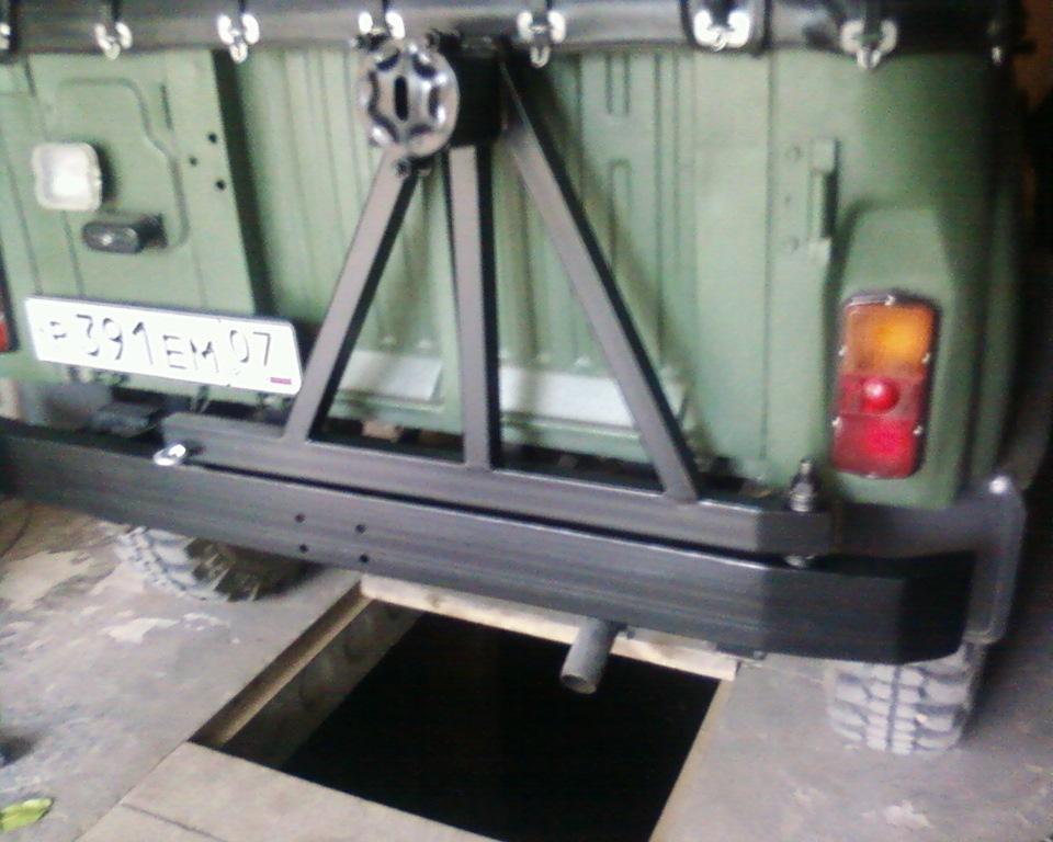 Изготовление и установка силового бампера 88