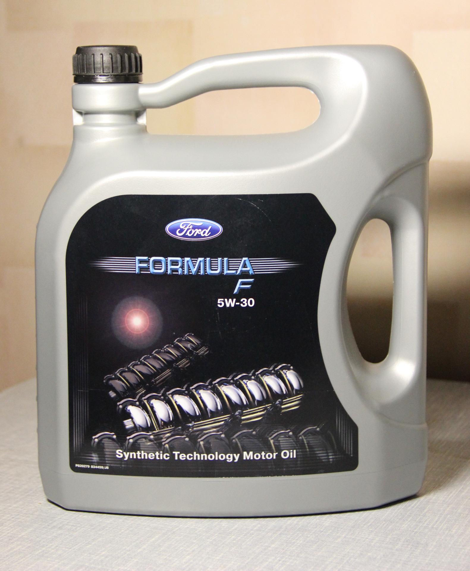 масло ford 5w30 синтетика отзывы
