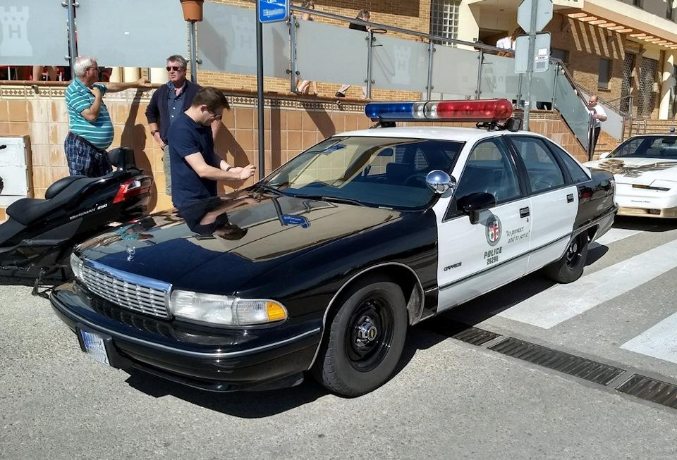 Chevrolet Caprice 1991/92 LAPD