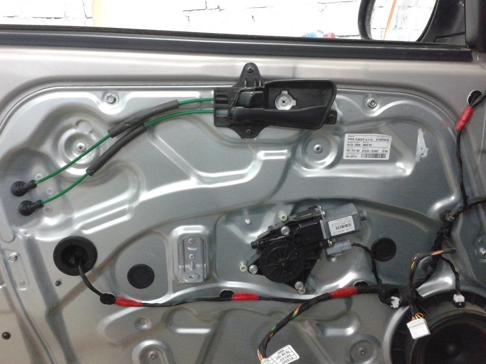 сломали личинку водительской двери hyundai i30