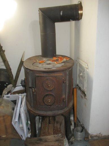 Печь в гараж на газе