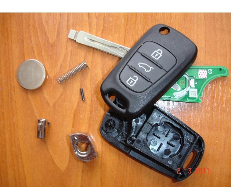как разобрать выкидной ключ киа сид