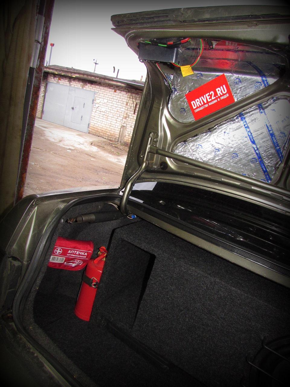 Удобный пол багажника ваз 2110