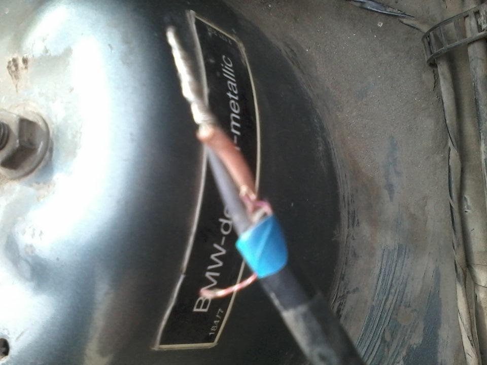 датчик износа тормозных колодок bmw e91