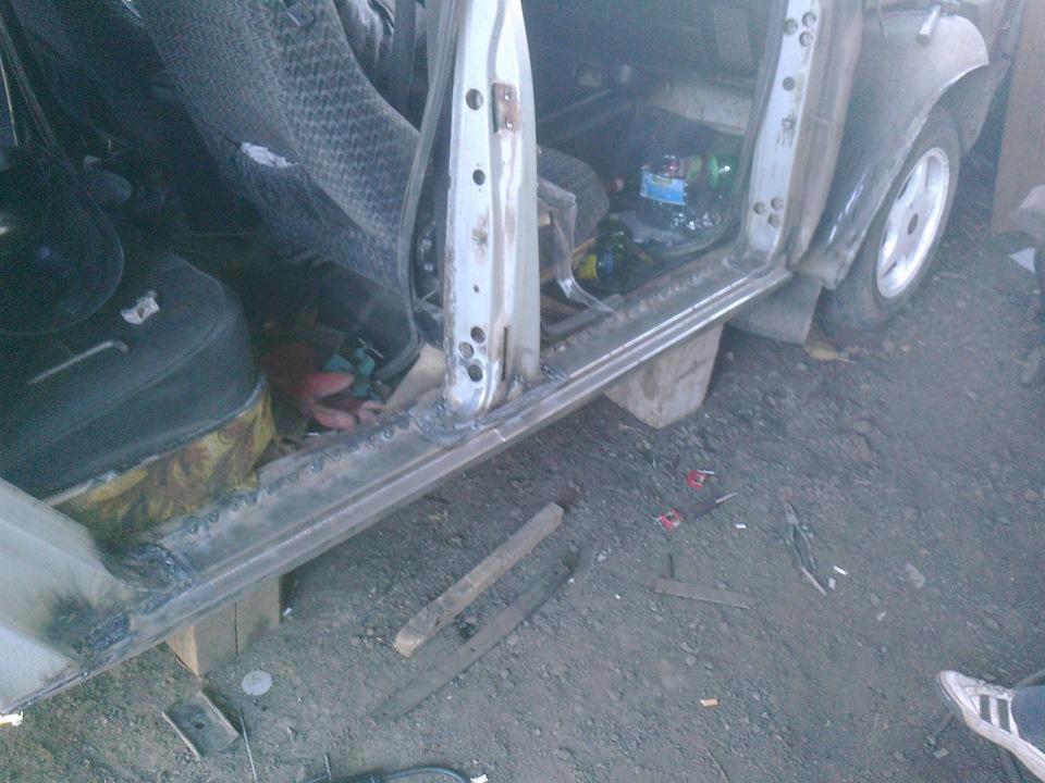 Замена порогов газ 2410