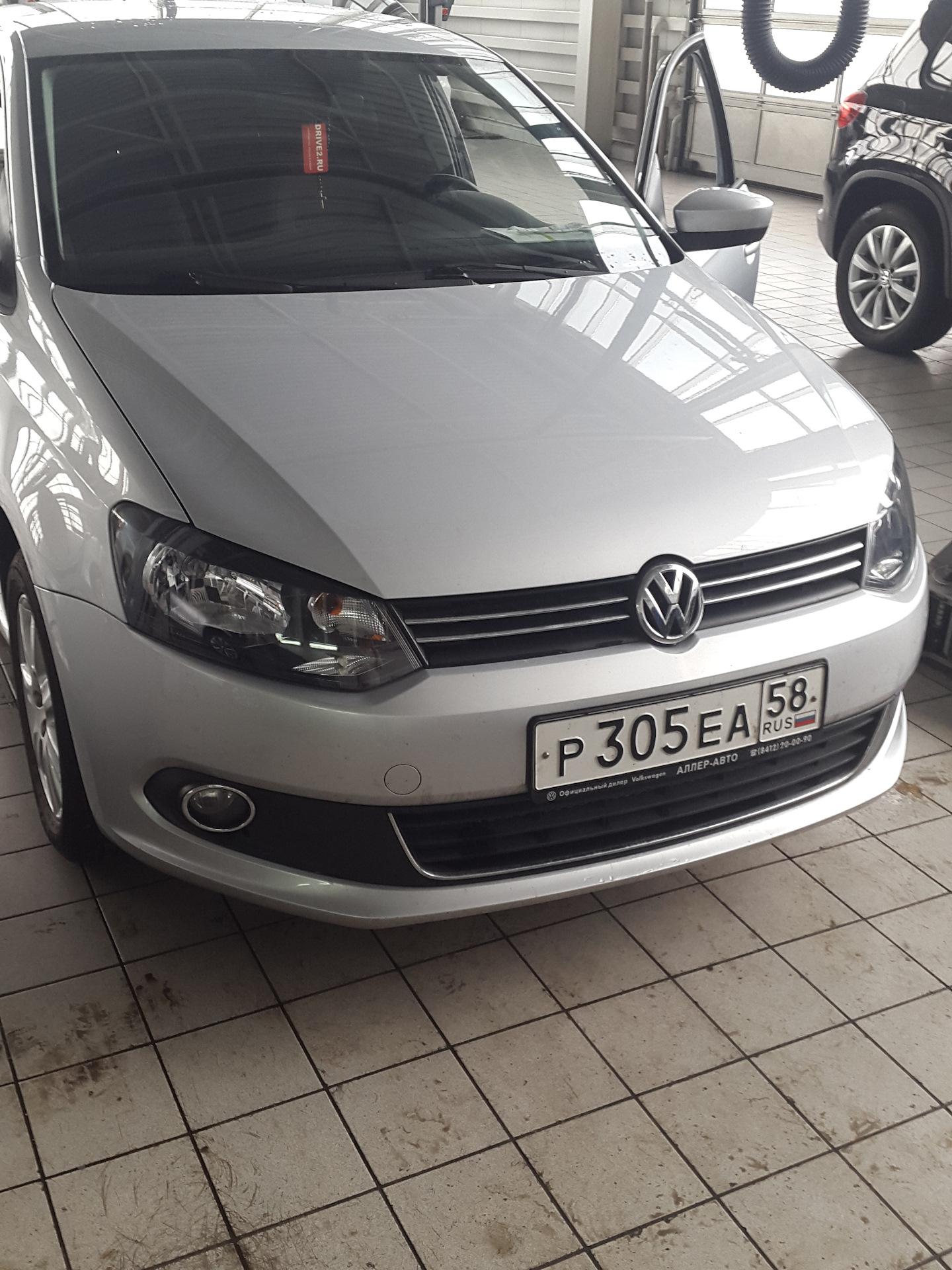 ТО-2 пройдено — Volkswagen Polo Sedan, 1 6 л , 2015 года на