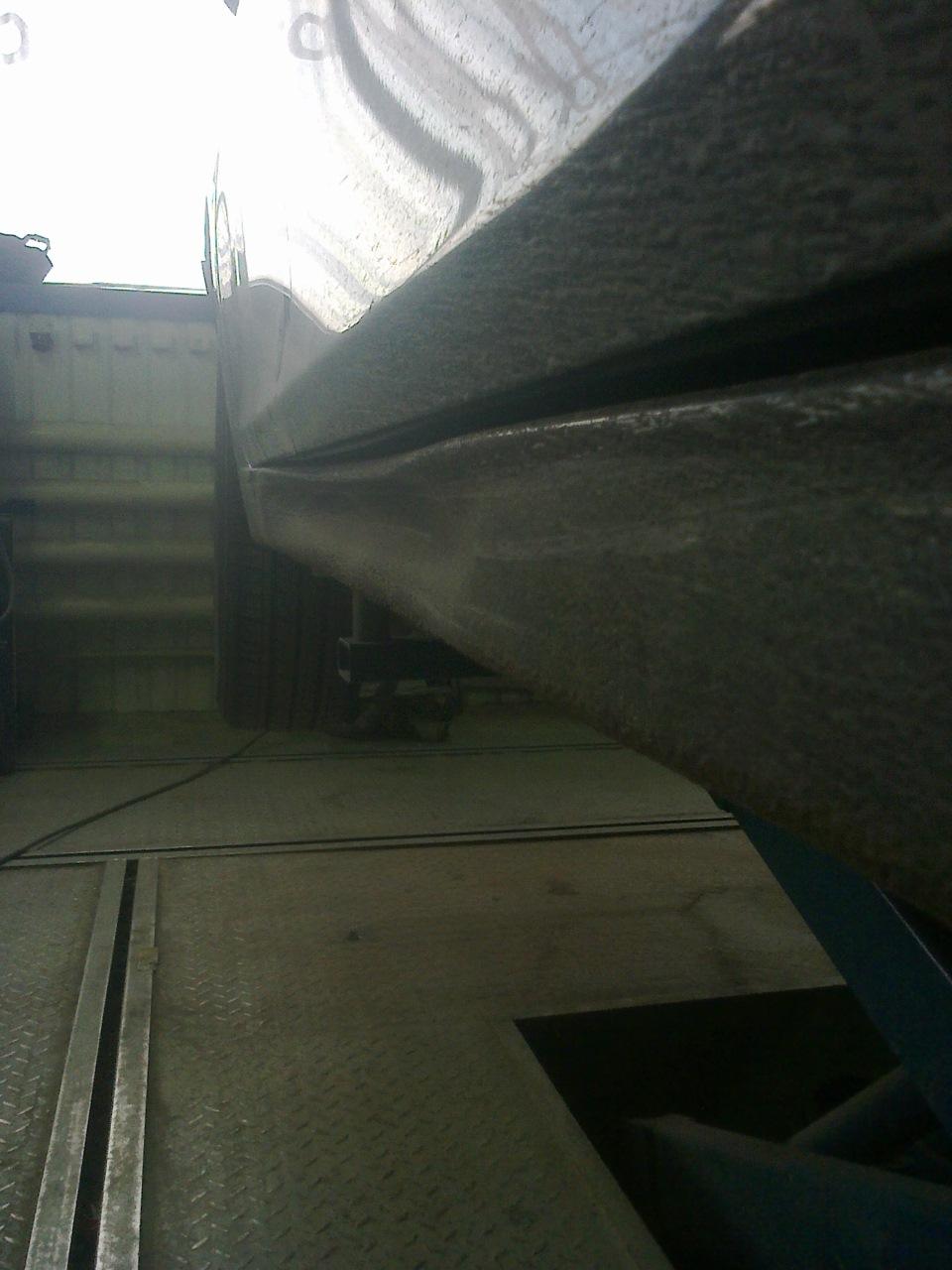 chevrolet cruze ремонт порога