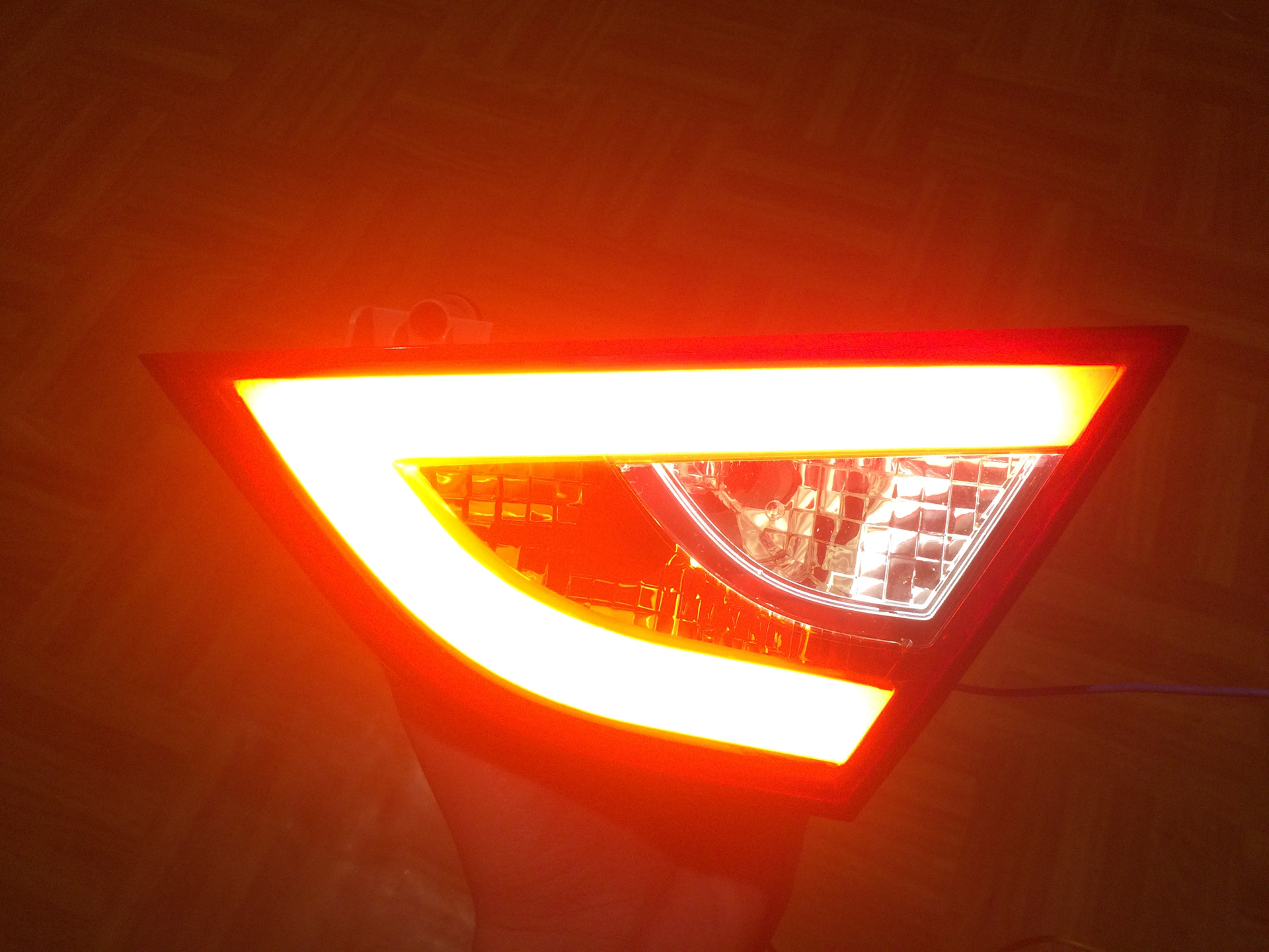 Задние светодиодные фонари своими руками