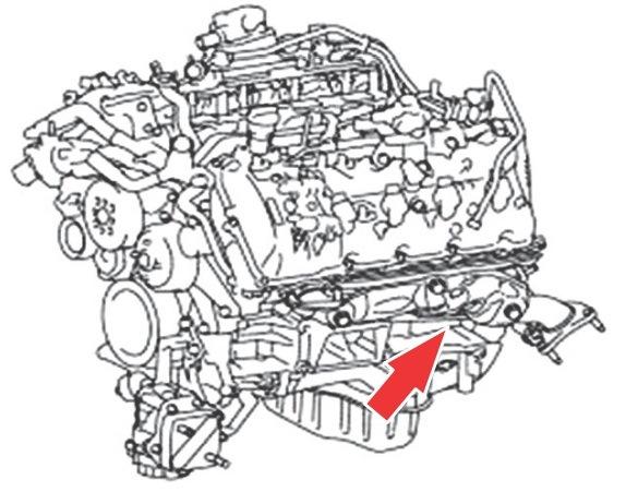 Расположение Вин номеров на Лексус RX Lexus RX330